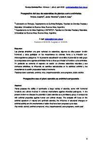 Prospectiva del uso de esteroides de plantas como antivirales