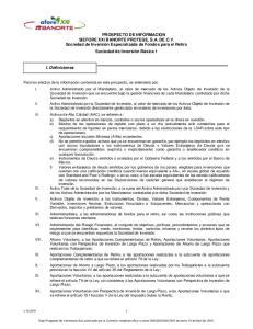PROSPECTO DE INFORMACION SIEFORE XXI BANORTE PROTEGE, S.A. DE C.V