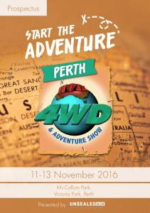 Prospectus. Start the. Adventure PERTH November McCallum Park, Victoria Park, Perth. Presented by