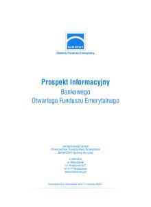 Prospekt Informacyjny