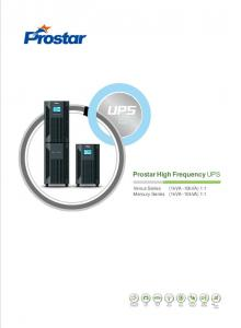 Prostar High Frequency UPS