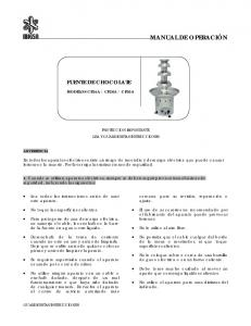 PROTECCION IMPORTANTE LEA Y GUARDE ESTAS INSTRUCCIONES