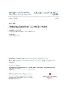 Protecting Families in a Global Economy