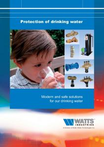 Protection of drinking water