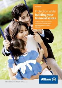 Protection while building your financial assets