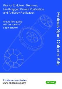 Proteus Spin Column Kits