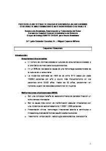 PROTOCOLO ANESTESIA EN CIRUGIA NEUROVASCULAR-ANEURISMAS CEREBRALES-MALFORMACIONES ARTERIOVENOSAS CEREBRALES