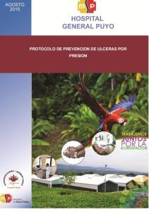 PROTOCOLO DE PREVENCION DE ULCERAS POR PRESION