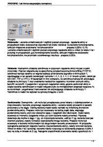 PROTOPIC - Lek immunosupresyjny zewnętrzny