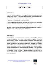 PROVA 3 (P3)