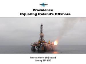 Providence Exploring Ireland s Offshore