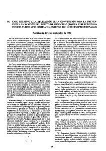 Providencia de 13 de septiembre de 1993