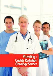 Providing a Quality Radiation Oncology Service