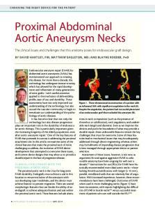 Proximal Abdominal Aortic Aneurysm Necks