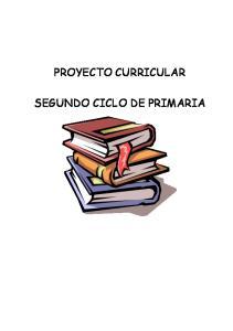 PROYECTO CURRICULAR SEGUNDO CICLO DE PRIMARIA
