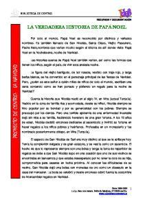PROYECTO DE CENTRO: LA NAVIDAD