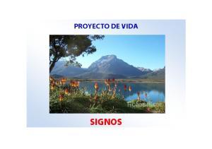 PROYECTO DE VIDA SIGNOS