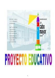 PROYECTO EDUCATIVO DEL C.E.I.P. CABO MAYOR