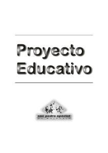 Proyecto Educativo del C.E.I.P. San Pedro Apóstol