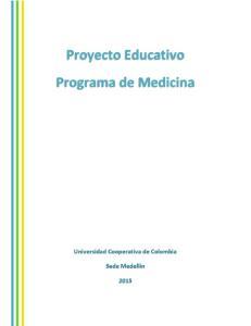 Proyecto Educativo Programa de Medicina