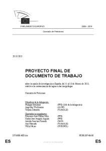 PROYECTO FINAL DE DOCUMENTO DE TRABAJO
