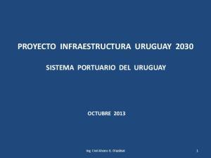PROYECTO INFRAESTRUCTURA URUGUAY 2030