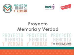 Proyecto Memoria y Verdad