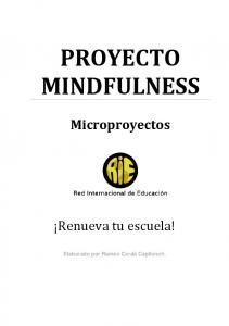 PROYECTO MINDFULNESS