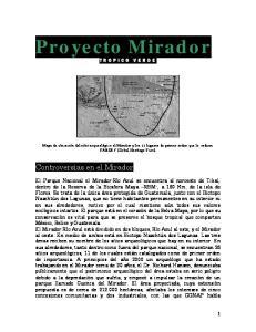 Proyecto Mirador TROPICO VERDE