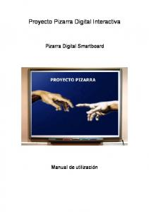 Proyecto Pizarra Digital Interactiva