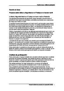 Proyecto sobre Salud y Seguridad en el Trabajo en el sector textil