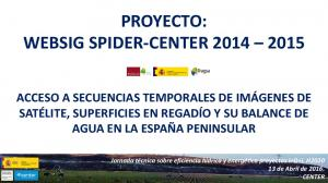PROYECTO: WEBSIG SPIDER-CENTER