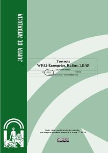 Proyecto WPA2-Enterprise, Radius, LDAP