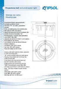 Proyectores led Led underwater light