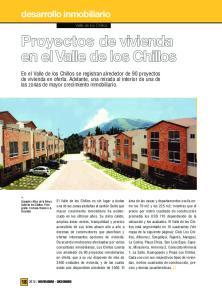 Proyectos de vivienda en el Valle de los Chillos