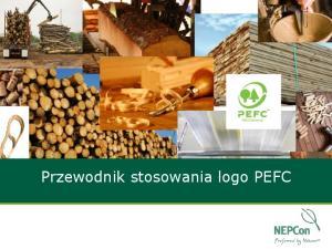 Przewodnik stosowania logo PEFC