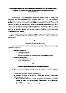 Przyznawane Certyfikaty Indywidualne