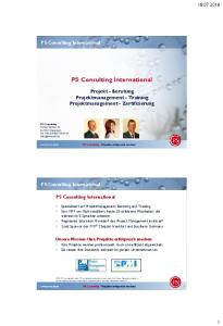 PS Consulting International