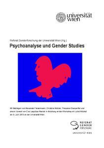 Psychoanalyse und Gender Studies