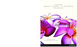 Psychology. Third Edition ISBN