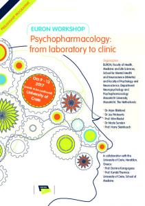 Psychopharmacology: from laboratory to clinic