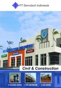 PT Servotech Indonesia. Civil & Construction. Steel Construction. electrical services. civil services