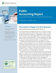 Public Accounting Report