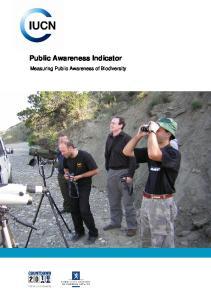 Public Awareness Indicator. Measuring Public Awareness of Biodiversity