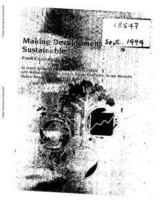 Public Disclosure Authorized. Public Disclosure Authorized. Public Disclosure Authorized. I~~Tgoi. Public Disclosure Authorized