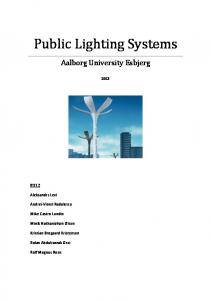 Public Lighting Systems
