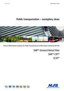 Public transportation exemplary clean