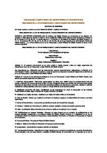 PUBLICADO EN LA GACETA OFICIAL DEL DISTRITO FEDERAL EL 8 DE MARZO DE 2010 REGLAMENTO DE LA LEY DE PRESUPUESTO Y GASTO EFICIENTE DEL DISTRITO FEDERAL
