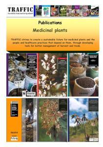 Publications. Medicinal plants