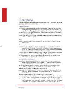 Publications. Publications in Press